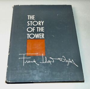 VINTAGE Book 1956 THE STORY OF THE TOWER Frank Lloyd Wright