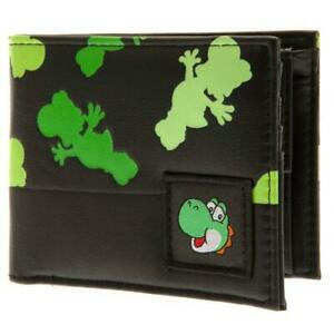 Super Mario Yoshi Faux Leather Bi Fold Wallet Official Licensed Merchandise