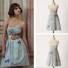 Anthropologie Super cute and flirty Moulinette Souers  Wright Airplane Dress