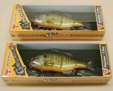 "2 Jackall Gantarel Jr RT Bluegill 5"" Slow Swim Bait  Fishing Lures JGANTJR-RTB"