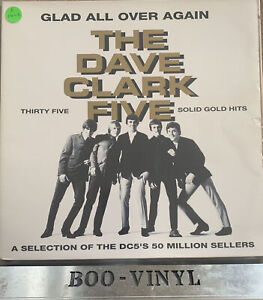 Glad All Over Again -The Dave Clark Five - 2 x LPs Gatefold 1993 EX / EX