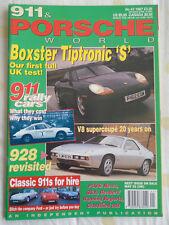 911 & Porsche World No 41 1997 928, Boxster Tiptronic S
