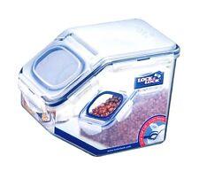 Grain Rice Cereal Dispenser, Pet Food Container Bin 10Cup 2.5L Lock&Lock HPL701