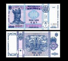 MOLDOVA 1000 LEI 1992 YEAR P 18 UNC