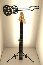 #4797 Samick FN1 Electric Bass Guitar Neck Parts Project U-Fix Level 4 CBG DIY