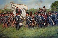Maritato Texas Revolution SAN JACINTO 30x20 L/E S/N Canvas Giclée Art Print #1