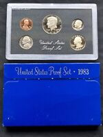 USA 1983 Proof Set San Francisco Original Box PP polierte Platte 1c-1$
