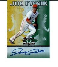 2011 Leaf Valiant Draft #JP3 Joe Panik San Francisco Giants Autograph