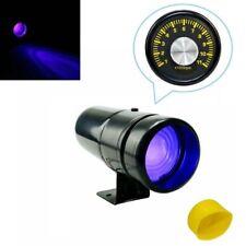 Adjustable 1000-11000 RPM Tachometer Tacho Gauge with Shift Light Lamp Blue LED