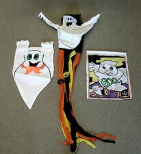 Decorative Halloween Hanging Ghost Wall Banner Wind Sock Streamer Seasonal Used