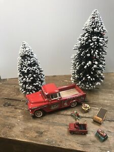 Franklin Mint 1:24 1998 Christmas Toy Delivery 1955 Chev Cameo Pickup Preowned