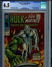 TalesTo Astonish #93 CGC 6.5 1967  1st Full Silver Surfer Marvel Amricons S3