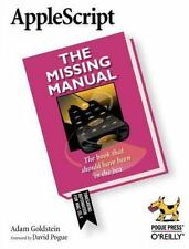 AppleScript: The Missing Manual (Paperback or Softback)