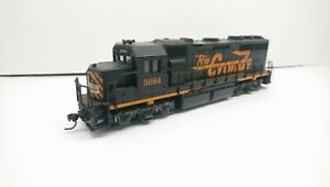 Atlas HO Train Rio Grande EMD GP40 Powered Diesel Locomotive