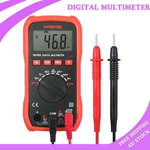 Digital Clamp Multimeter Amp Meter OHM AC/DC Current Voltage OHM Tester Probe AU