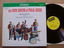 NICK DEAN AND THE DEANS OF DIXIELAND,THE NEW SOUND OF FOLK-DIXIE lp m-/m- USA