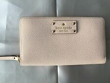 NWT Classic Authentic Kate Spade Zip Around Wallet Coin Purse