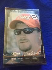 Vtg Bud Racing Dale Earnhardt Jr Nascar # 8 Has Playing Cards Nos