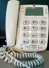 Telephone 29569GE1-A GE Big Button Corded 13 Nunbers Memory HANDSET Wall Desk