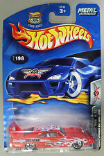 Hot Wheels 1:64 Scale 2003 Final Run DODGE CHARGER DAYTONA 1969 (RED)
