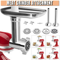 Durable Stainless Steel Food Meat Grinder Attachment For KitchenAid Sausage