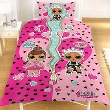 LOL Kinderbettwäsche l.o.l. Surprise Mädchen rosa Bettset Bettgarnitur Set Neu