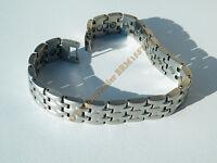 Bracelet Gourmette Magnétothérapie 5 Rangs Pur Acier Inoxydable 22 Aimants