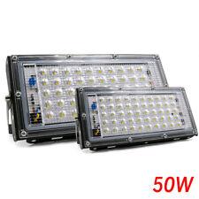 Led Luz de inundação 50W Ac 110/220V Spotlight LED de iluminação ao ar livre Jardim Refletor