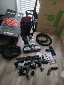 KIRBY AVALIR RED Upright Vacuum Cleaner Cleaning System with Attachments