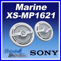 "Sony XS-MP1621W 16cm (6.5"") 2-Way Coaxial Marine Speaker 160W For Boats Bathroom"