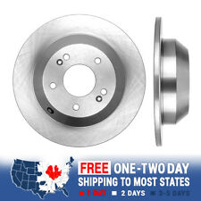 Rear OE Disc Brake Rotors For 10 - 14 Santa Fe 11- 14 Sorento