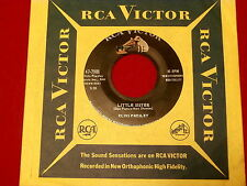 ELVIS PRESLEY~LITTLE SISTER~HIS LATEST FLAME~RCA~47-7908~ ~ 45
