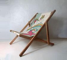 Mon Petit Poney chilienne transat chaise longue enfant Vintage