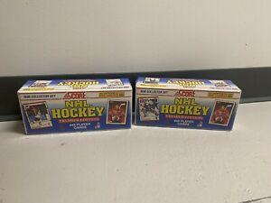 Pack Of Two 1990 Score NHL Hockey Premier Edition Collector Factory Sealed Packs