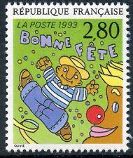 STAMP / TIMBRE FRANCE NEUF N° 2837 ** LE PLAISIR D'ECRIRE / BONNE FETE