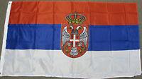 3X5 SERBIA FLAG SERBIAN FLAGS EUROPEAN EU NEW F198