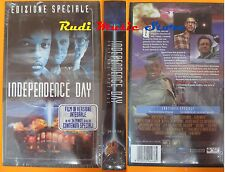 film VHS INDEPENDENCE DAY EDIZIONE SPECIALE VERSIONE INTEGRALE (F24) no dvd