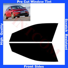 Pre Cut Window Tint Honda Civic 5Doors Hatchback 2006-2011 Front Sides Any Shade
