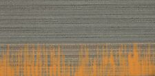 "SHAW Chevron Horizon Orange Carpet Tiles 18"" x 36"""