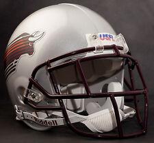 MIKE ROZIER Edition JACKSONVILLE BULLS Riddell AUTHENTIC Football Helmet USFL