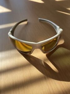 Stihl Safety Glasses White With Orange Mirror Lenses *Landscaping*