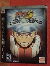 NARUTO SHIPPUDEN ULTIMATE NINJA STORM LIMITED EDITION PS3 Playstation 3 (2008)LN