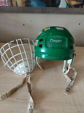 Vintage Hockey Cooper SK 600 Helmet With Cage Used Mens Lrg