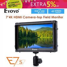 E7S 7'' 4K Field Monitor 1920x1200 For Cameras Canon Mark 5D3 Sony FS7 FS5 A7S2