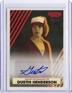 Stranger Things Collection Autograph Card, D-B Gaten Matarazzo Dustin Henderson