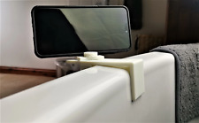 Phone Bracket For Bath Mount, Adjustable Up To 80Mm : White