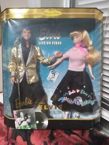 Collectors Edition Barbie Loves Elvis - Mattel # 17450 - 1996