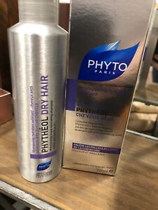 PHYTO Phytheol Dry Hair Moisturizing Scalp Exfoliating Shampoo 6.7 oz. NIB!