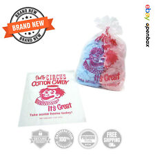 Gold Medal Plastic Cotton Candy Bags 1000 Ct