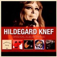KNEF,HILDEGARD - ORIGINAL ALBUM SERIES 5 CD BOX SET NEU